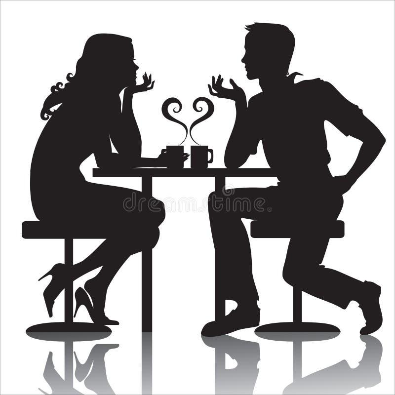 Couples illustration de vecteur
