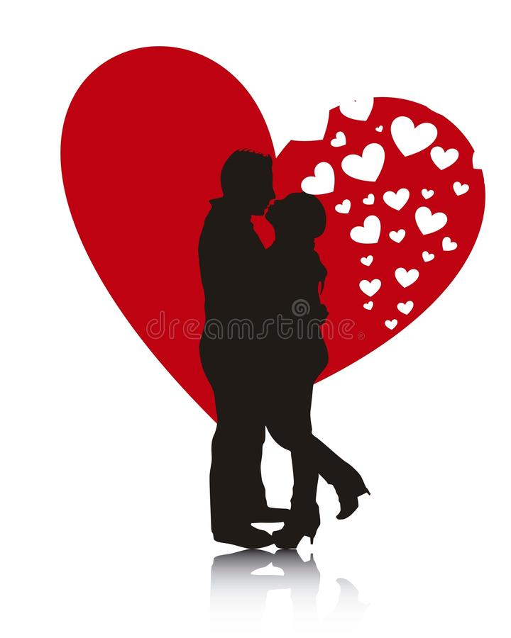 Couples   illustration stock