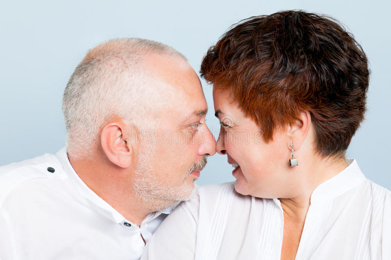 Couples affectueux photos stock