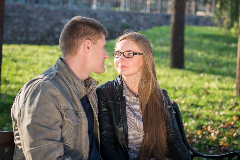 Download Couples affectueux image stock. Image du apprécier, caucasien - 45351325