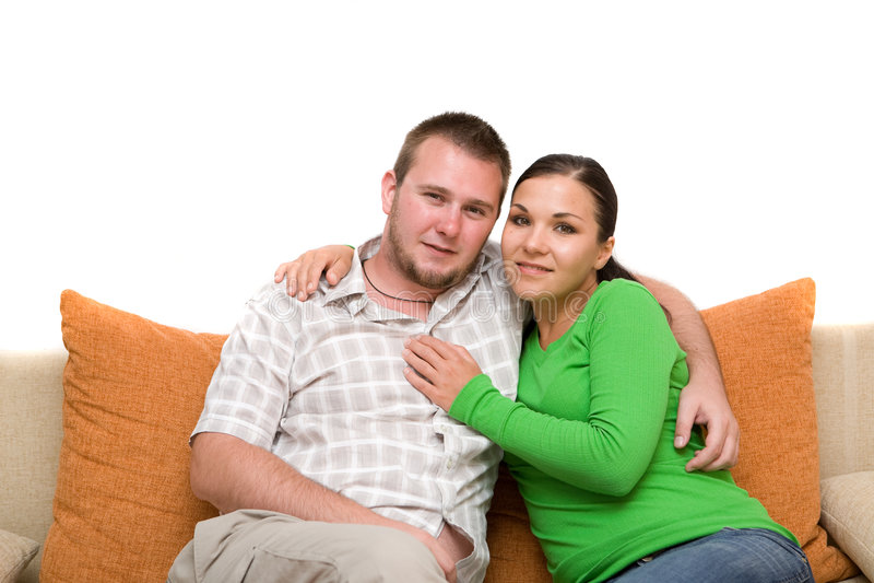 Couples affectueux images libres de droits
