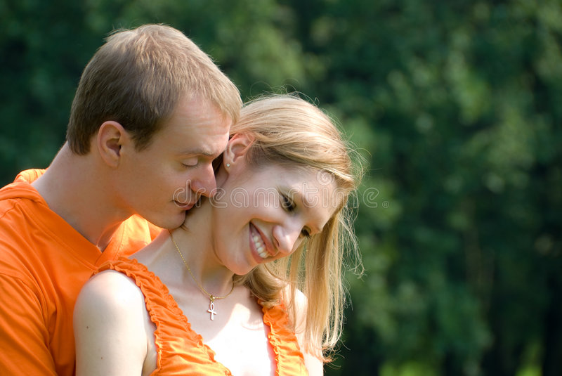 Couples affectueux images stock