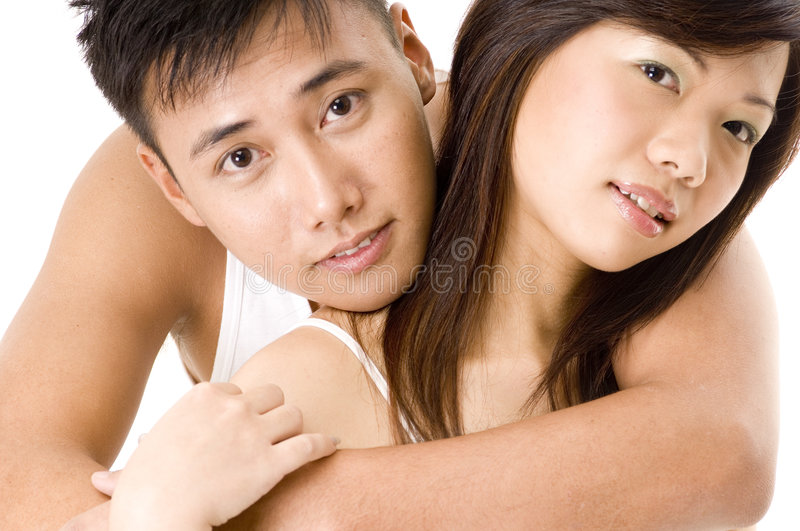 Couples asiatiques 2 photo libre de droits