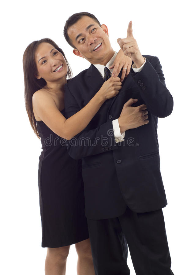 Couples asiatiques photographie stock