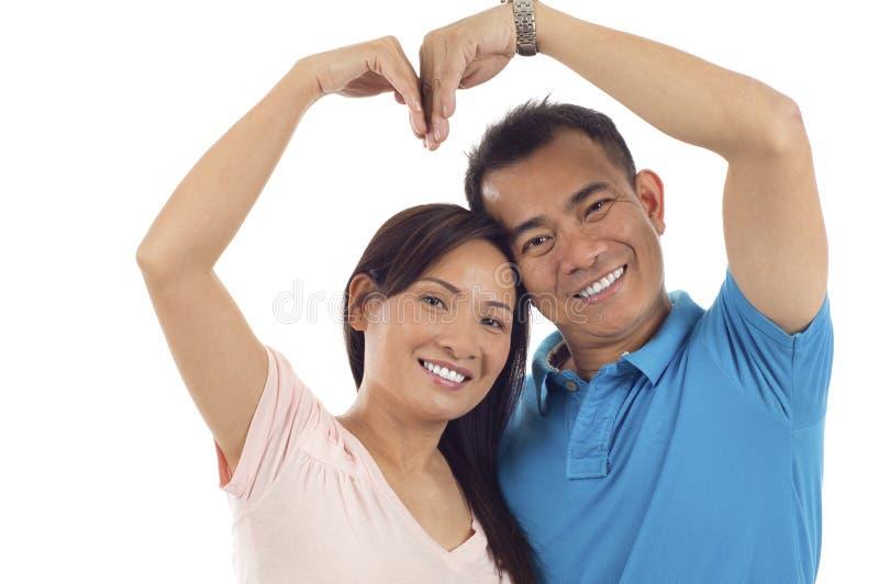 Couples asiatiques photos stock