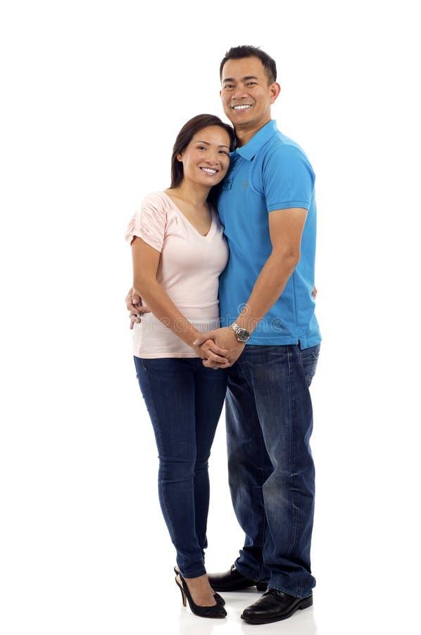 Couples asiatiques photographie stock libre de droits