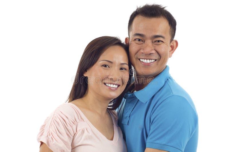 Couples asiatiques images libres de droits
