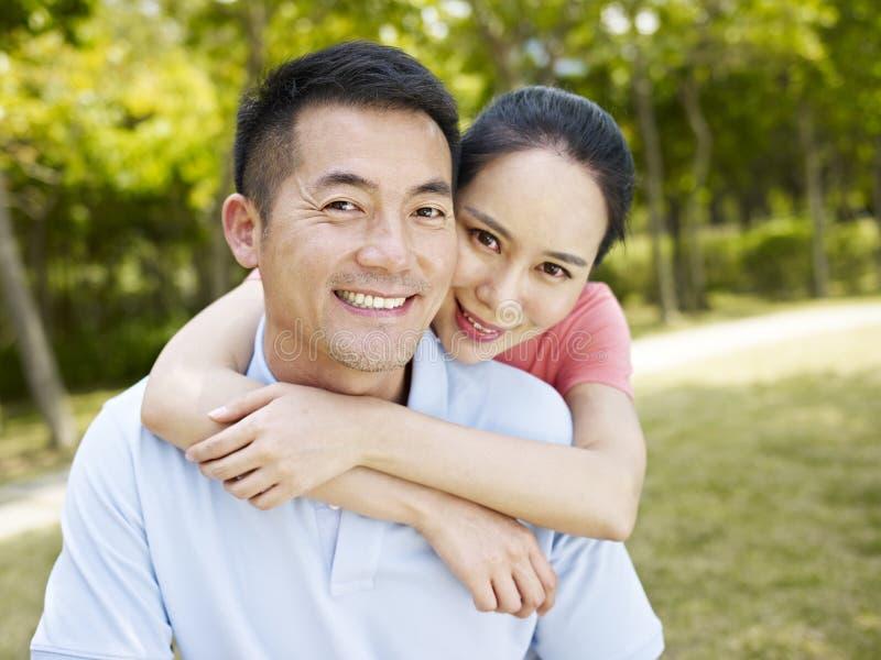 Couples asiatiques image libre de droits