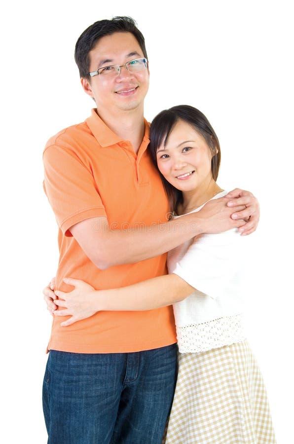 Couples asiatiques images stock