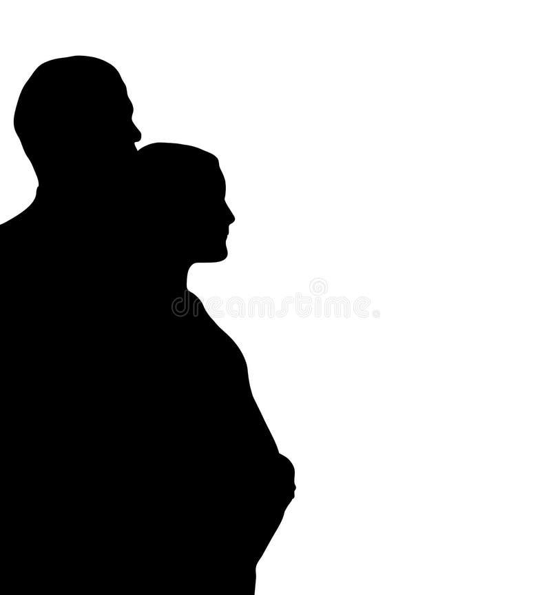 Couples attendant 2 illustration stock