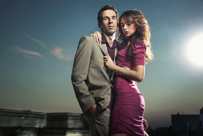 Couples beaux images libres de droits