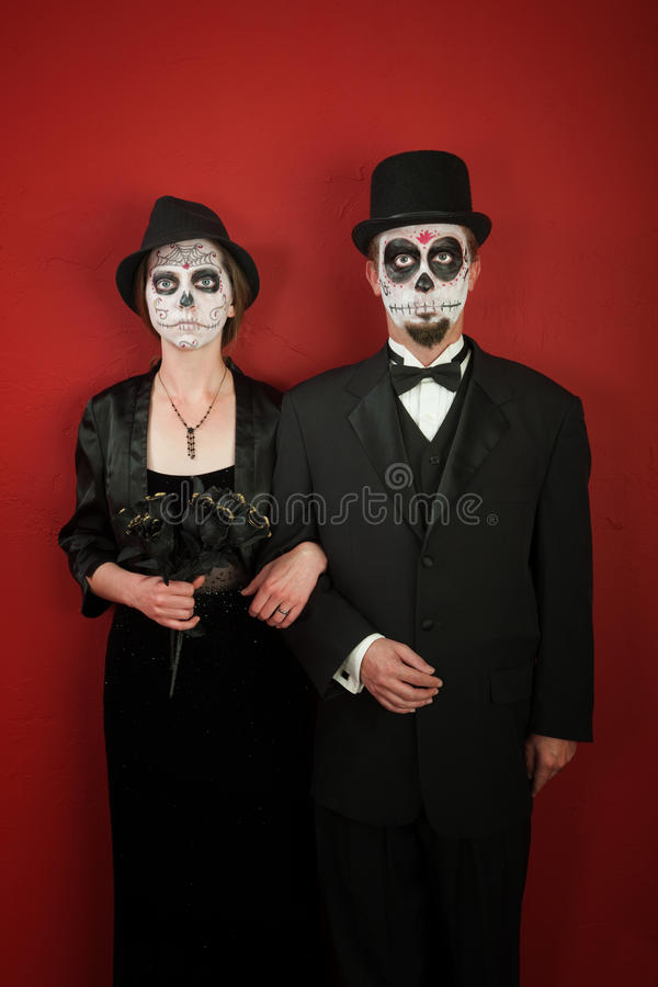 Couples bizarres photographie stock