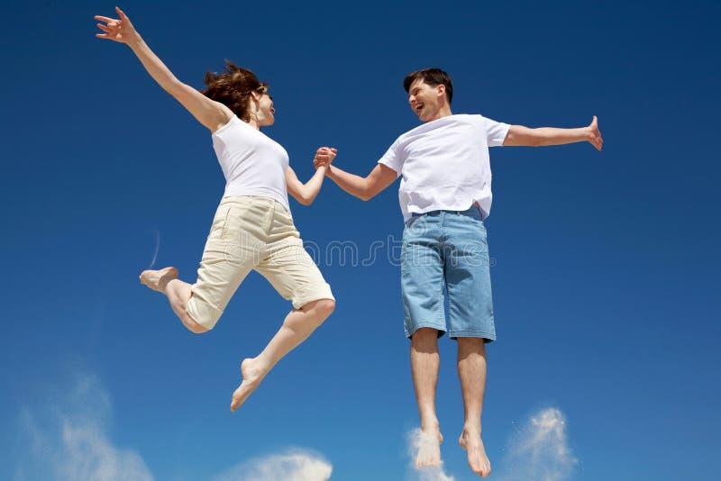 Couples branchants photo stock