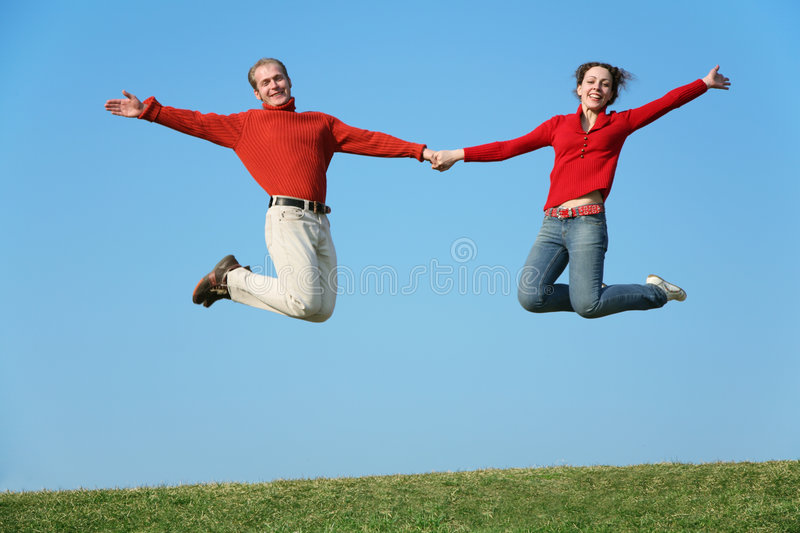 Couples branchants images stock