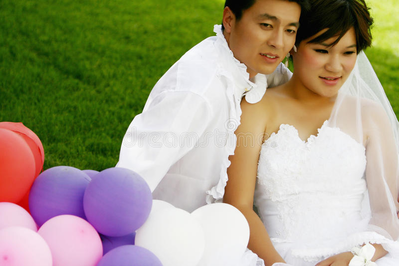 Couples chinois image stock