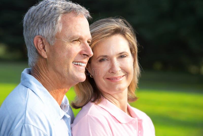Couples d'aînés photographie stock
