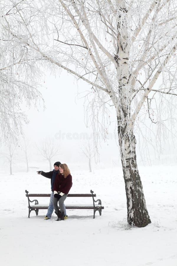 Couples d'adolescent images stock