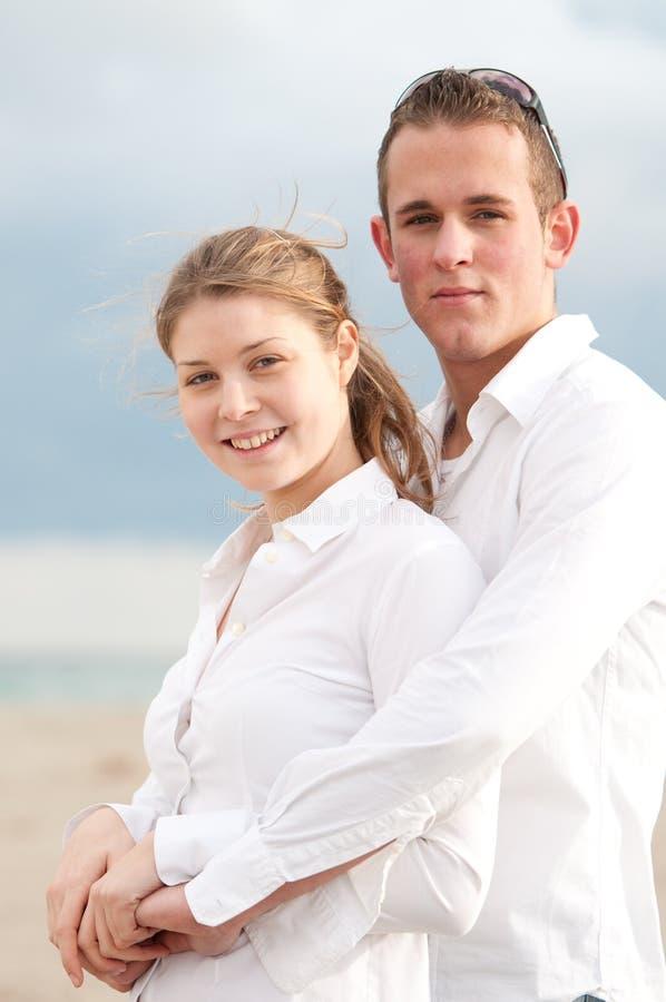 Couples d'adolescent photographie stock