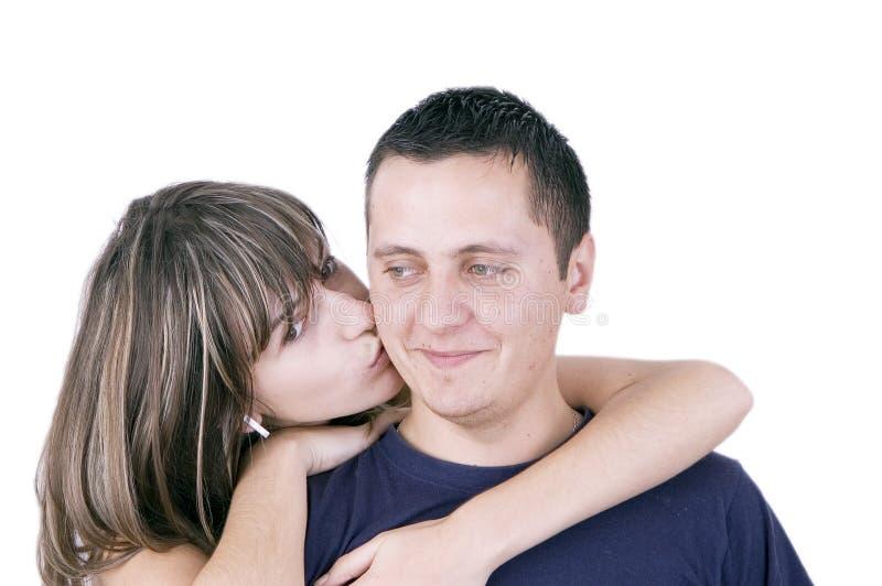 Couples d'adolescents photo stock