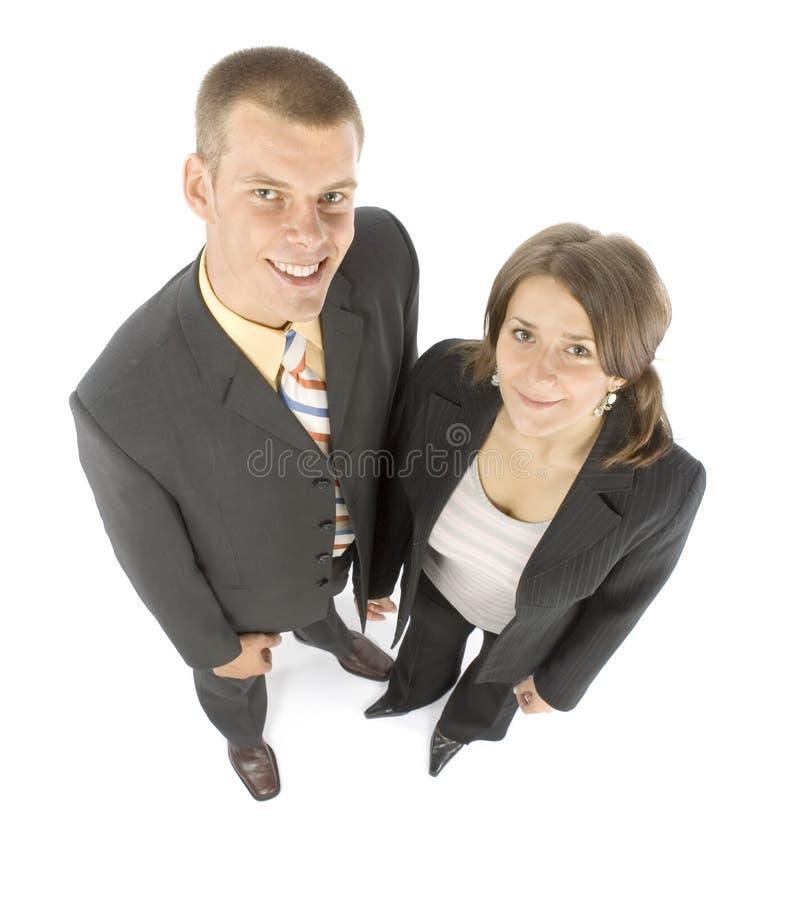 Couples d'affaires photographie stock libre de droits