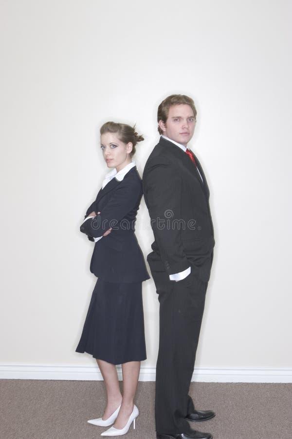 Couples d'affaires images stock