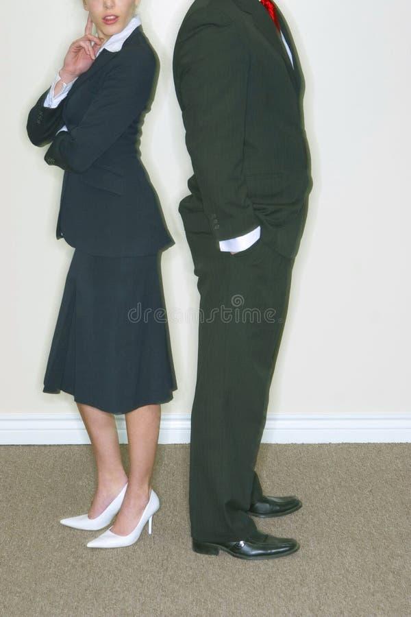 Couples d'affaires photographie stock