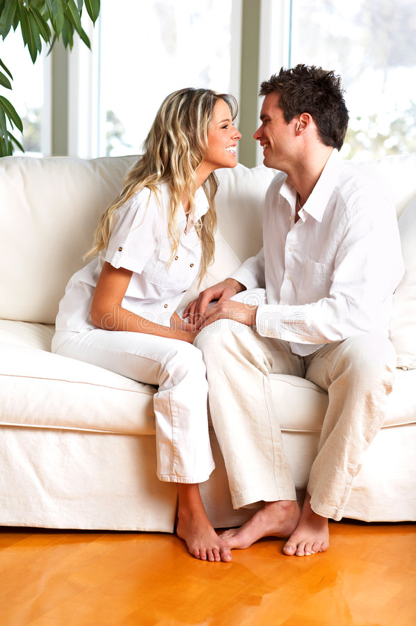 Couples D Amour Images stock