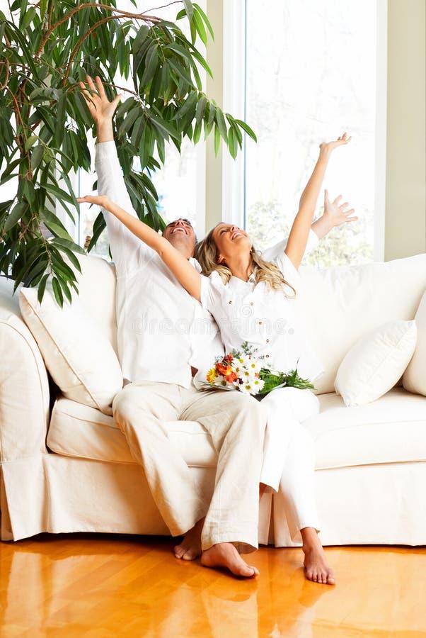 Couples d'amour photographie stock libre de droits