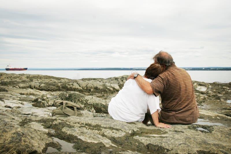 Couples d'amoureux image stock