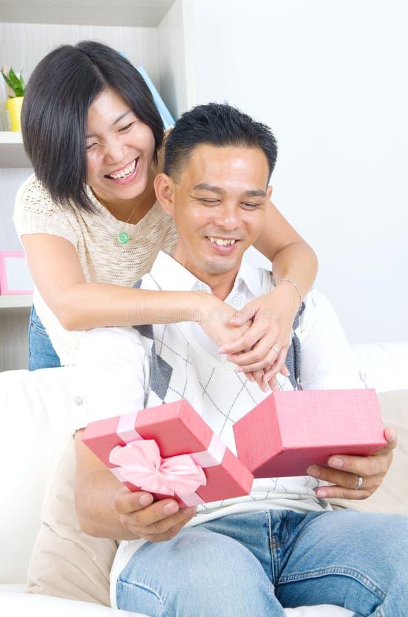Couples d'Asioan photo stock