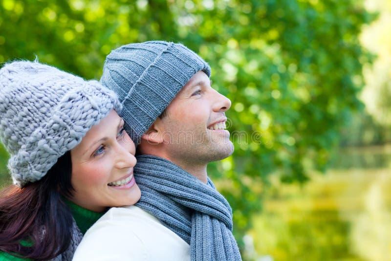 Couples d'automne photos stock