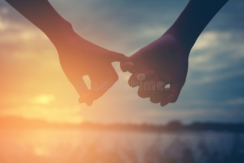 Couples d'hommes et de femmes tenant la main heureusement image libre de droits