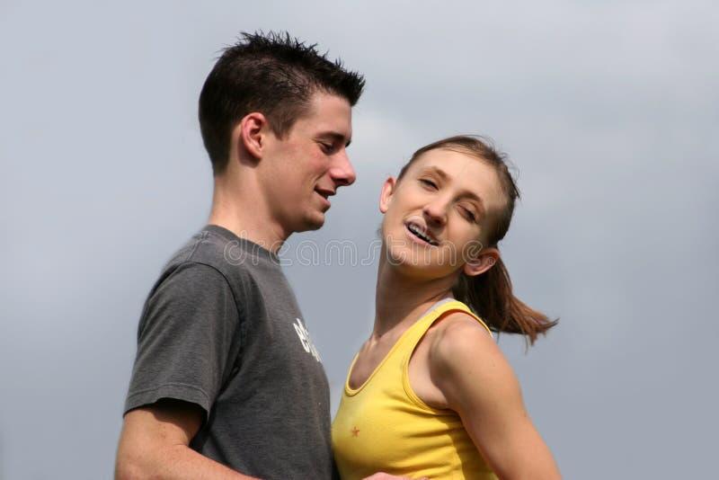 Download Couples dans l'amour image stock. Image du vivre, aimer - 80195