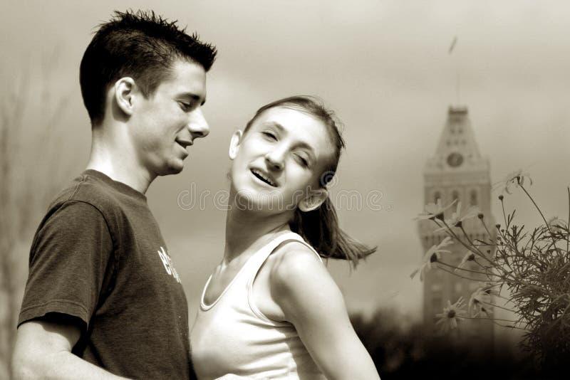 Couples Dans L Amour Photographie stock