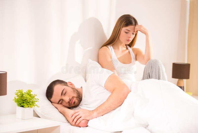 Couples dans le bâti image libre de droits