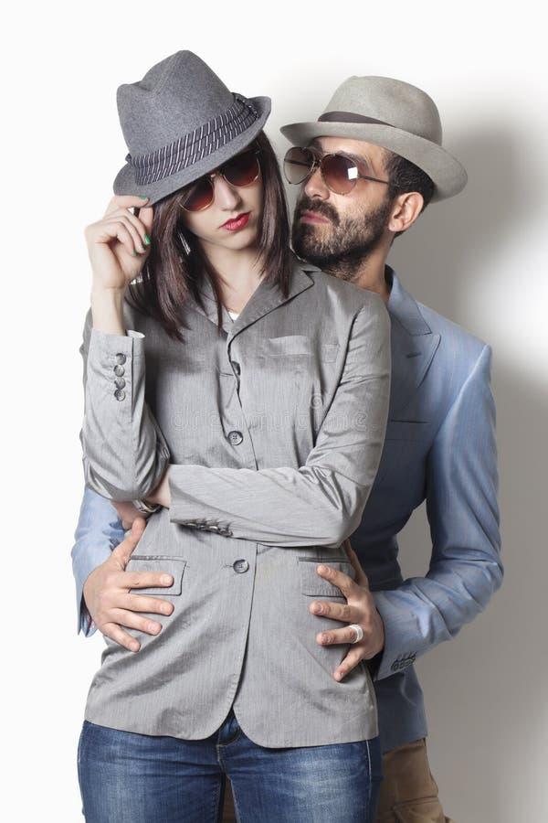 Couples de bandit photographie stock