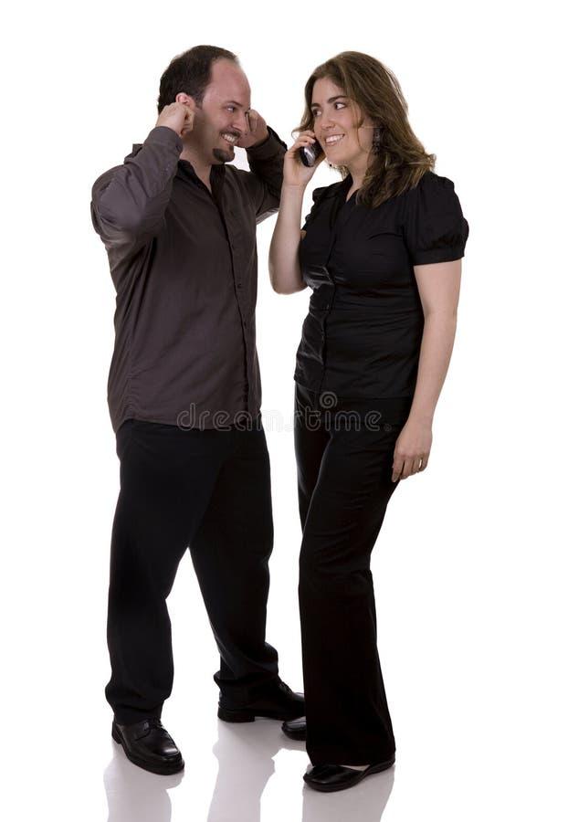 Couples de Bussiness image libre de droits