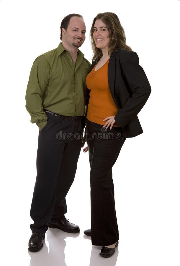 Couples de Bussiness photographie stock