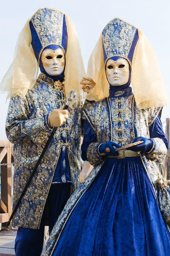 Download Couples de carnaval image stock. Image du purim, classique - 8672083