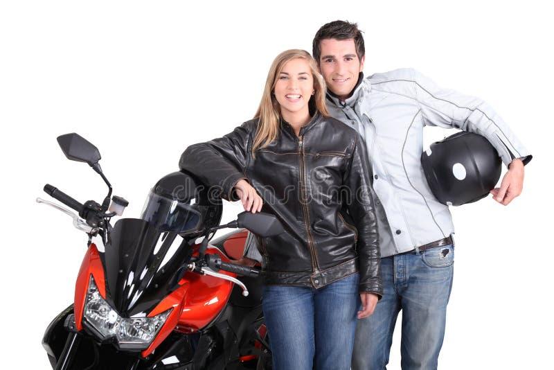 Couples de cycliste photos libres de droits