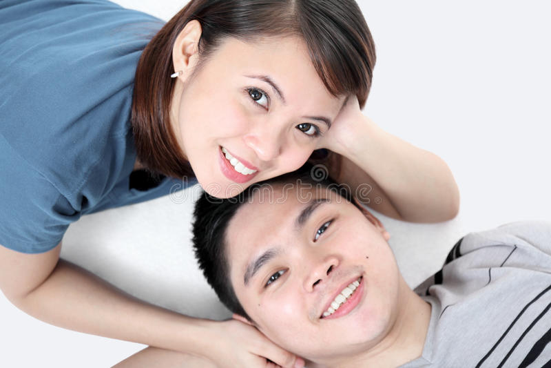 Couples de détente image libre de droits