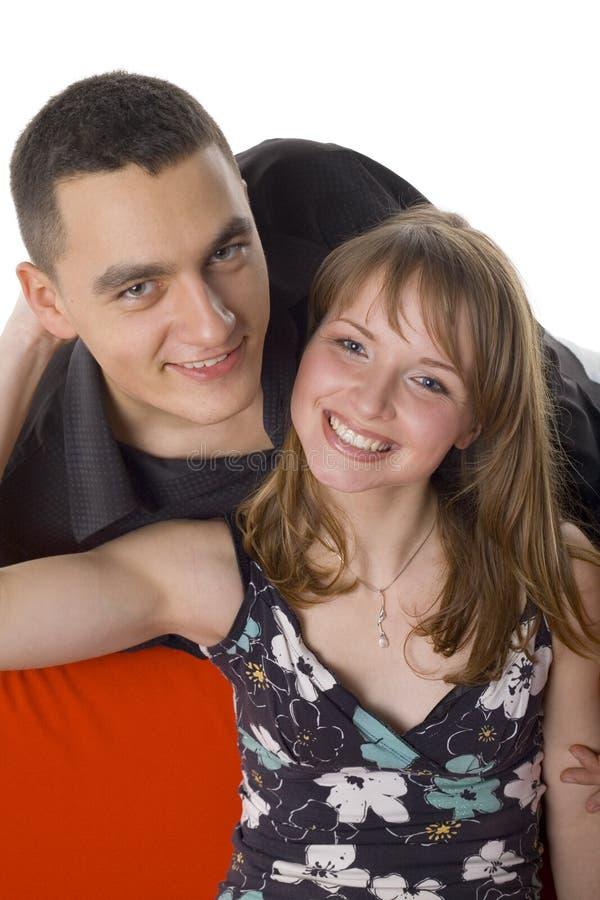 couples de divan gentils photo libre de droits