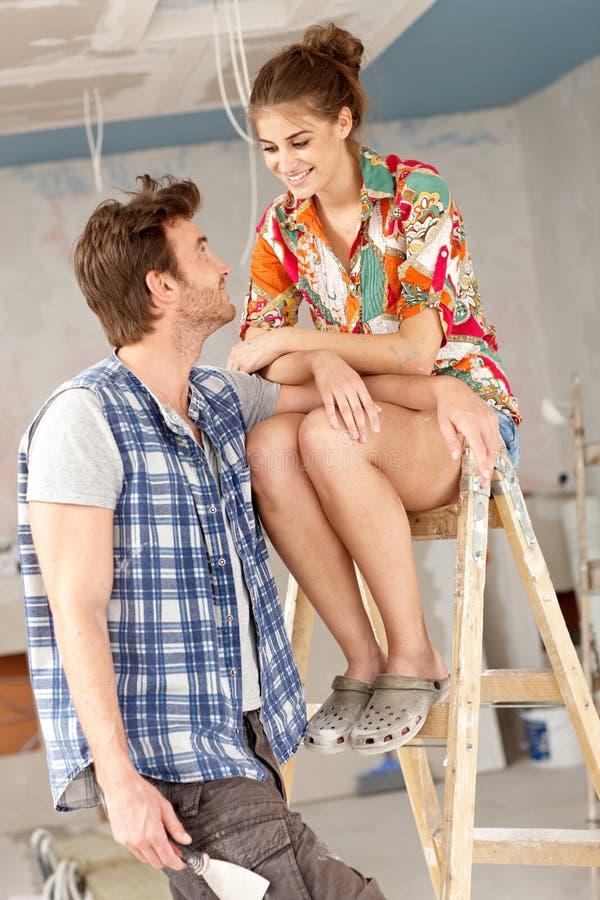 Couples de DIY photos stock