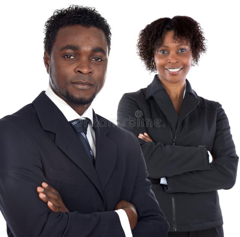 Couples de jeunes cadres images libres de droits