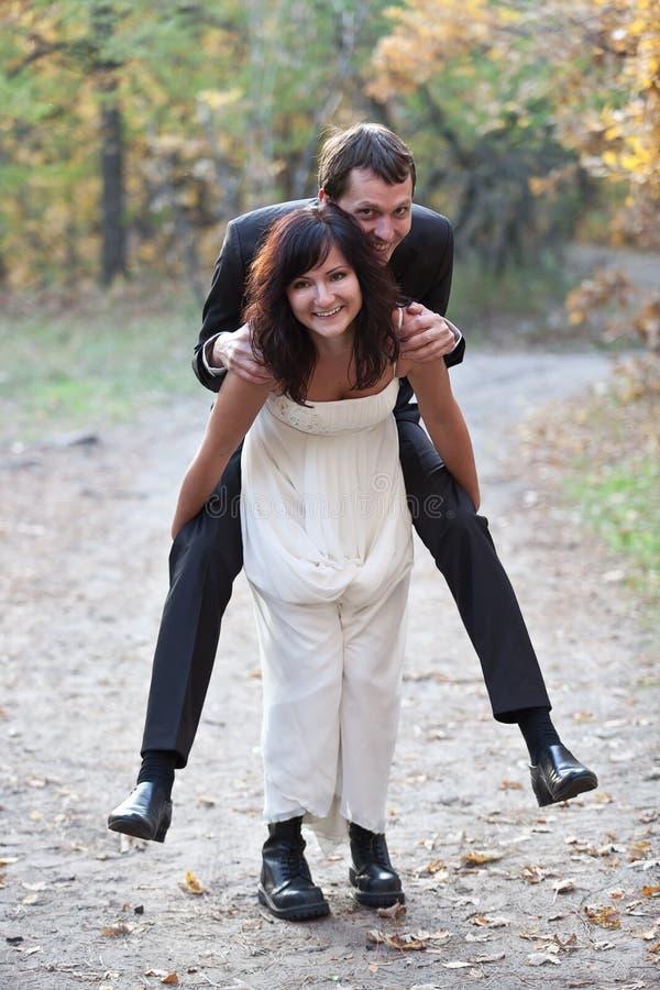 Couples de mariage. image stock