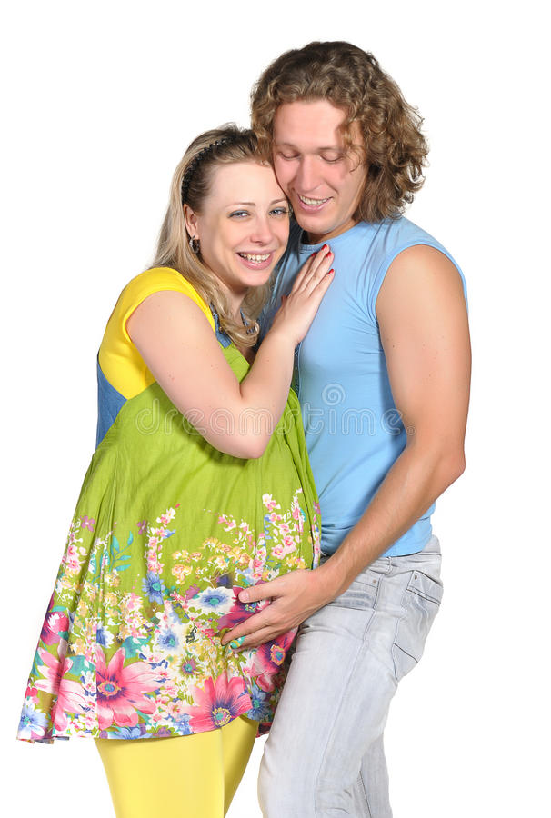 Couples de mode attendant une chéri images libres de droits