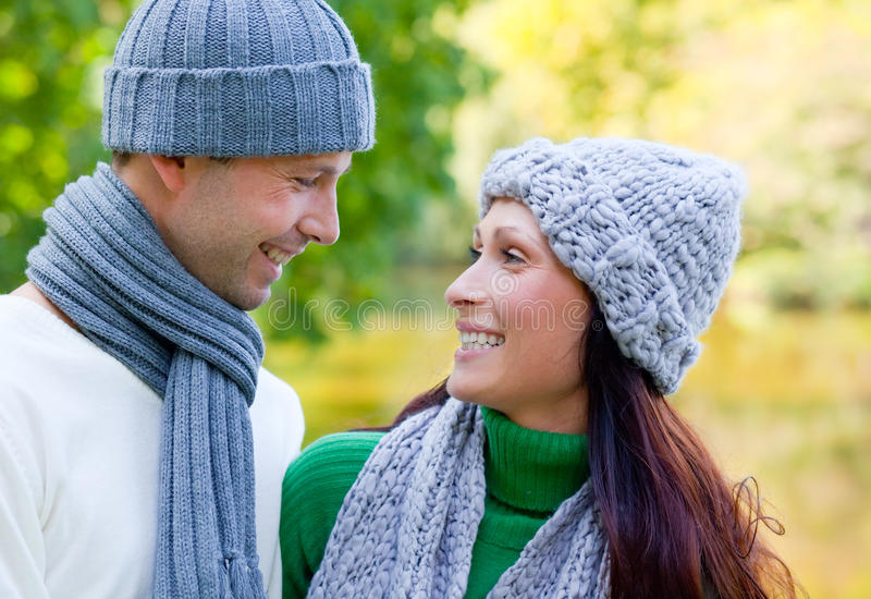 Couples de Parc photographie stock libre de droits