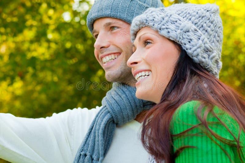 Couples de Parc photo stock