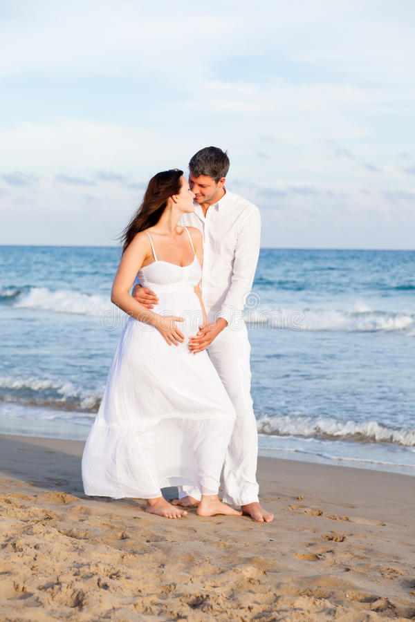 Couples de plage images stock