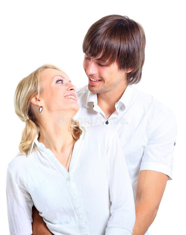 Couples de sourire heureux photographie stock